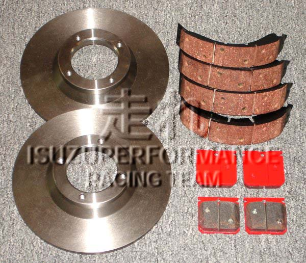 Isuzuperformance Racing Team Isuzu Bellett GT GT-R GTR Brake Discs Disks Rotors Pads Shoes Isuzu Racing